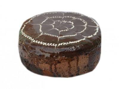 Торт   Птичье  молоко  шоколадное