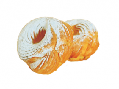 Пирожное Кольцо с творожно-сливочным кремом