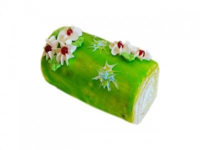Рулет Зелёное яблоко