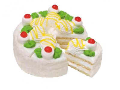 Пирожное Ягодка
