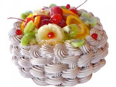 Торт Фруктовое лукошко